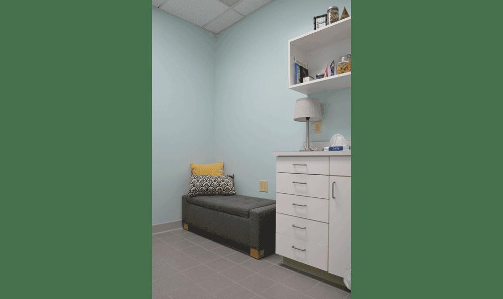 Comfy room at Hidden Valley Animal Hospital & Boarding