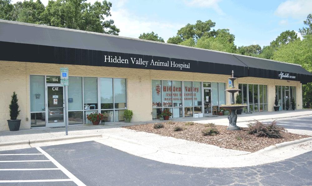 Exterior view of Hidden Valley Animal Hospital & Boarding
