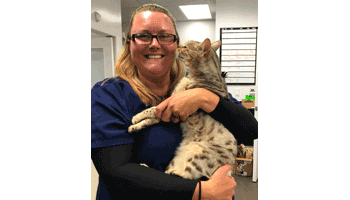 Jami of Lifetime Animal Care Center