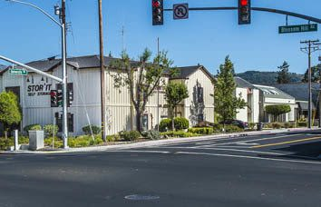 Self storage facility in Los Gatos