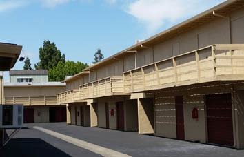 Self storage facility in Napa