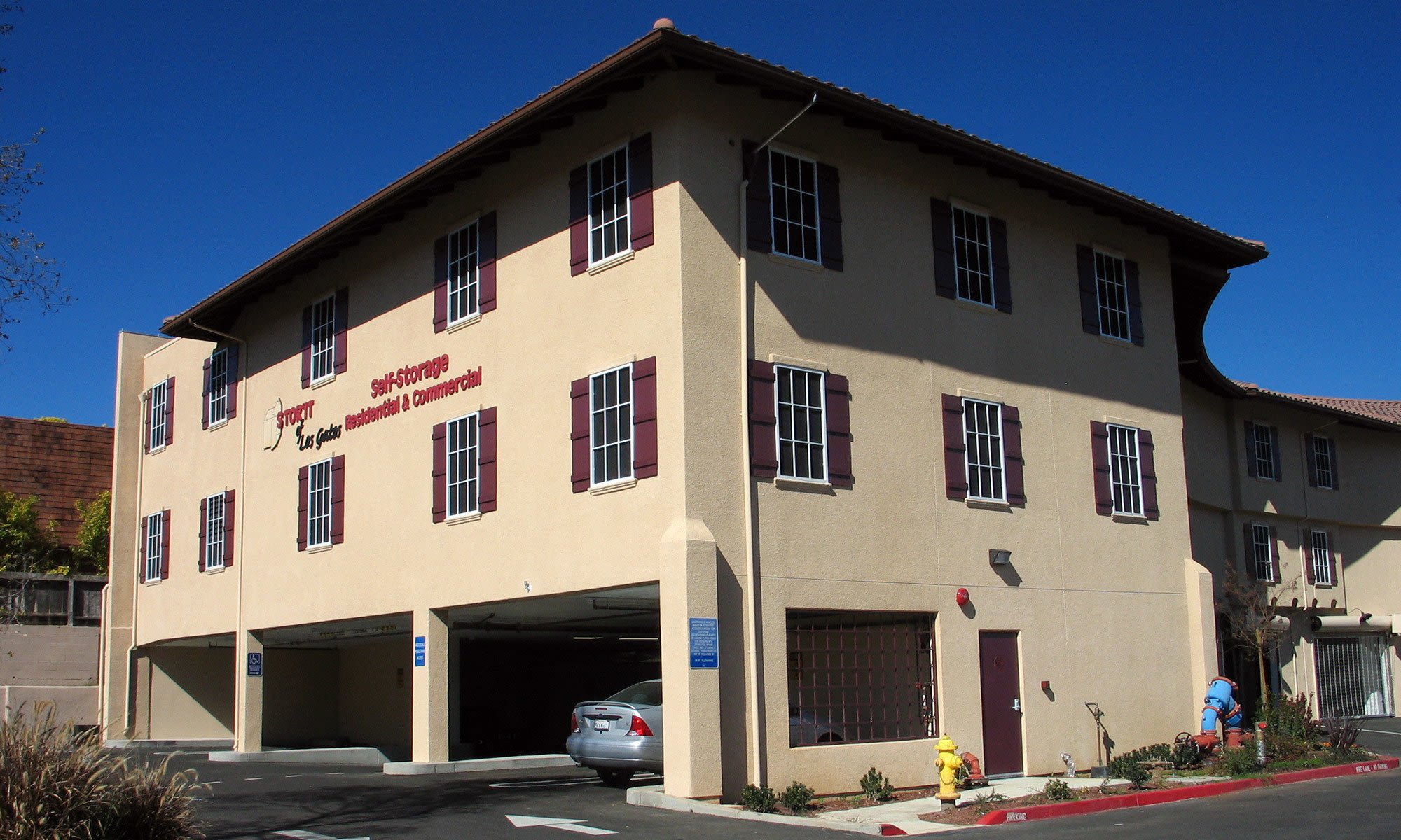 Self storage in Los Gatos CA