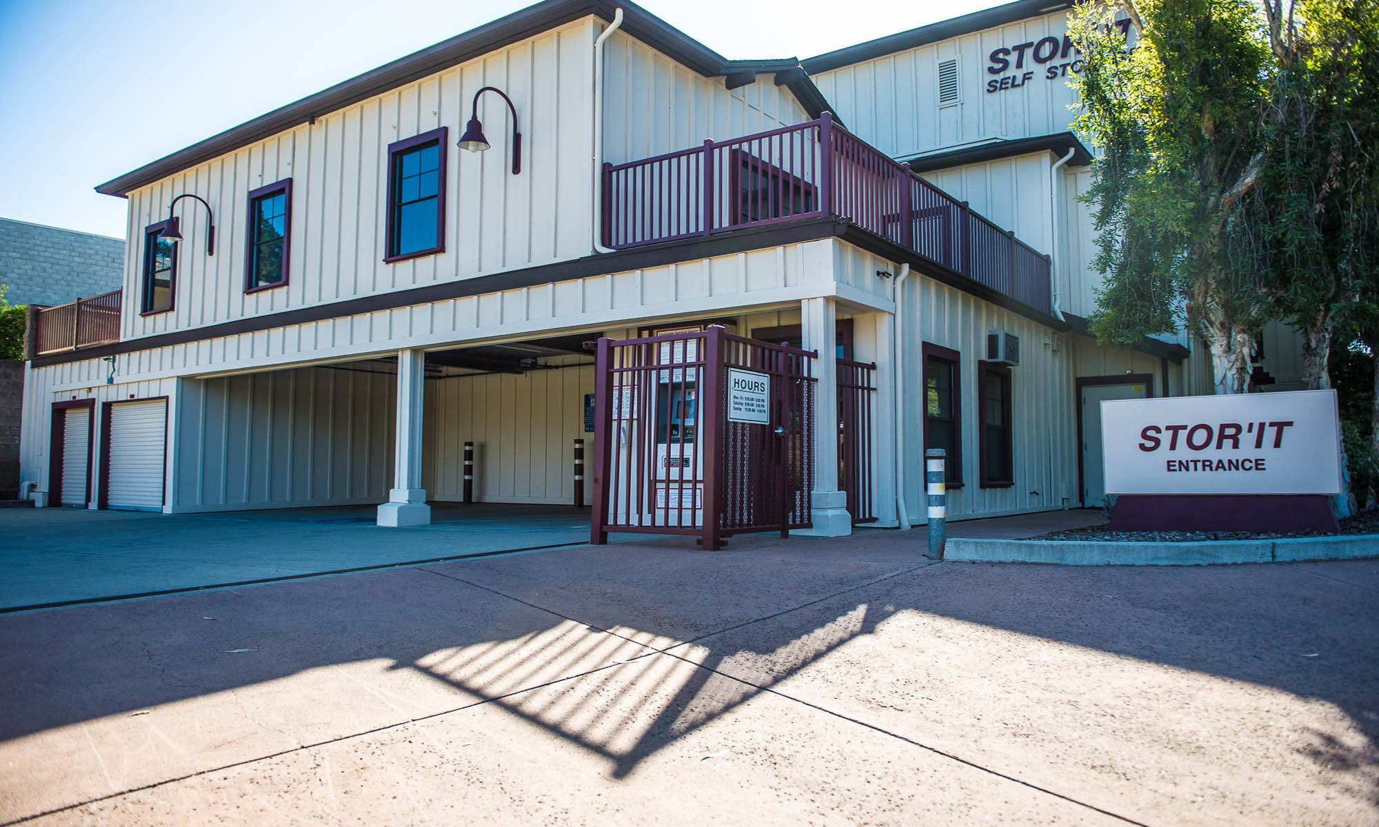 Self storage in Los Gatos, California