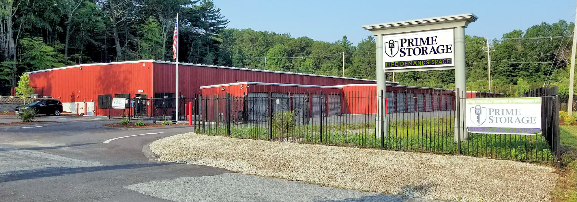 Prime Storage in Whitinsville, MA