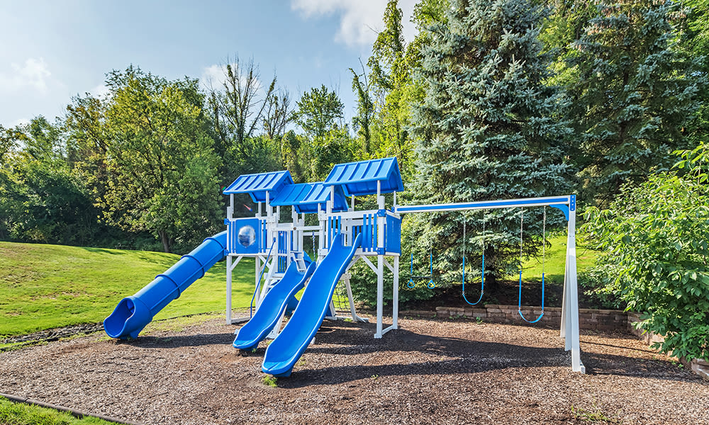Playground at The Cascades Townhomes and Apartments in Pittsburgh