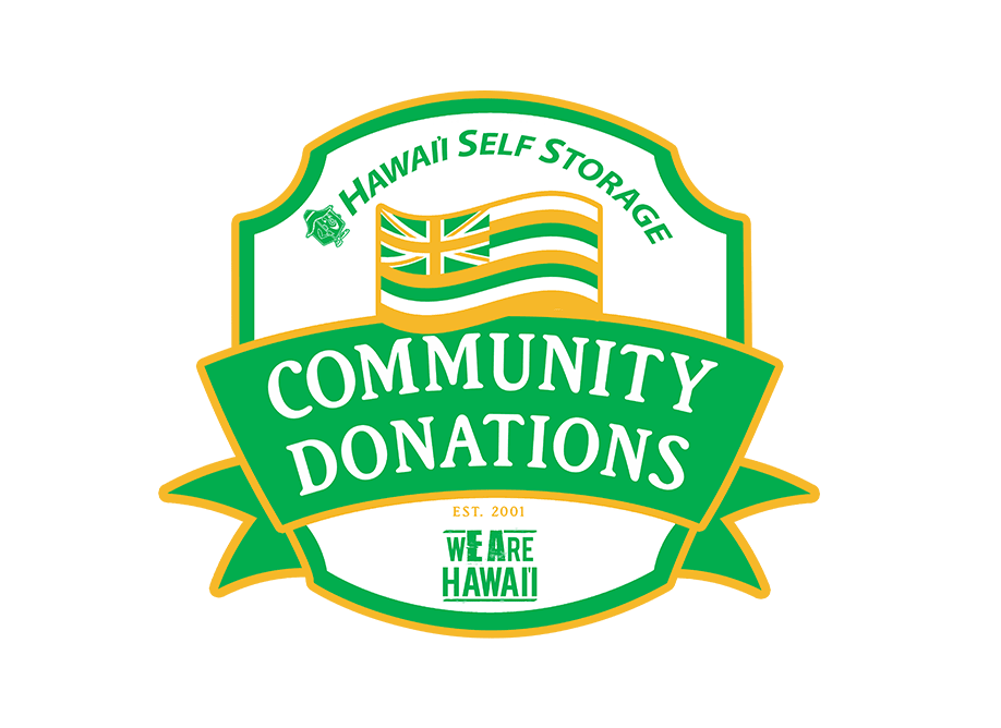 Community donations at Hawai'i Self Storage in Pearl City, HI