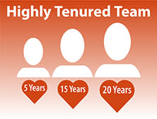 long-tenured staff