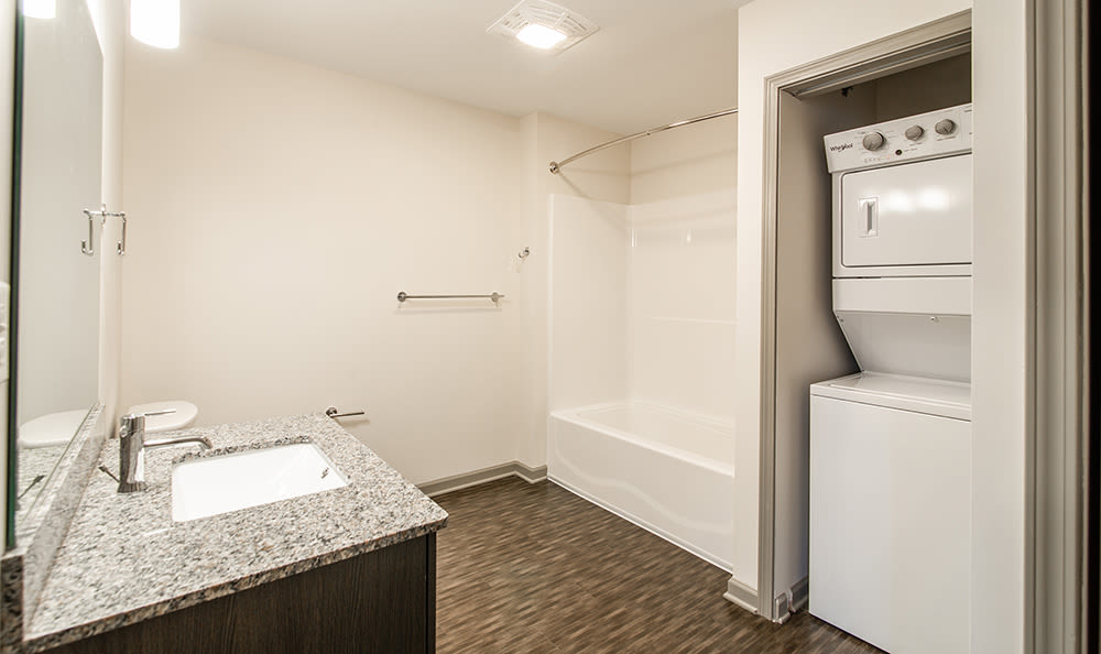 Luxury finishes at apartments in Rochester, New York