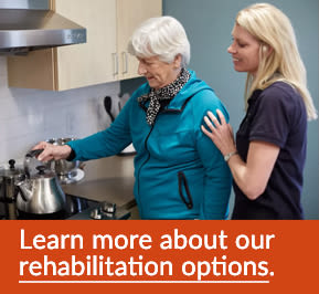 Learn more about our Rehabilitation Options
