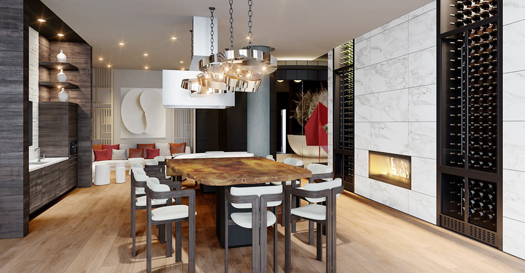 Our apartments in Ithaca, New York showcase a modern clubhouse