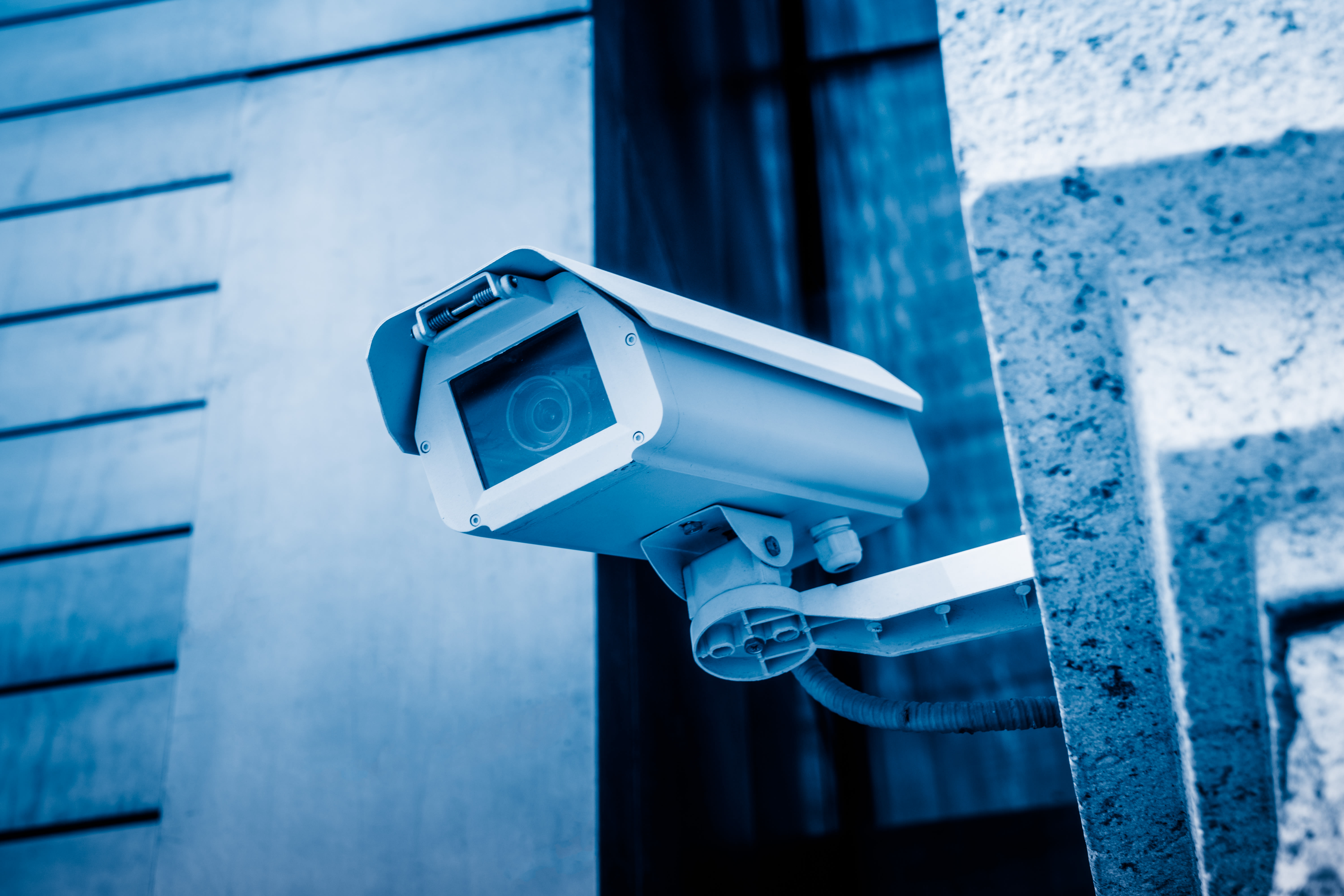 Security camera at United Storage Group in Tyler, Texas