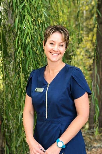 Eileen Ferneyhough at Okanagan Veterinary Hospital