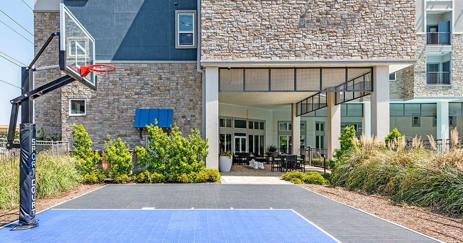 Our apartments in Richardson, Texas have a state-of-the-art basketball court