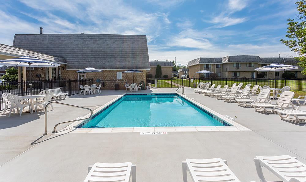 Refreshing swimming pool at Hilton Village II