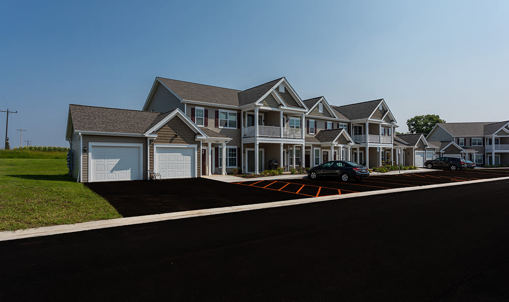 Our apartments in Avon, New York showcase a beautiful exterior