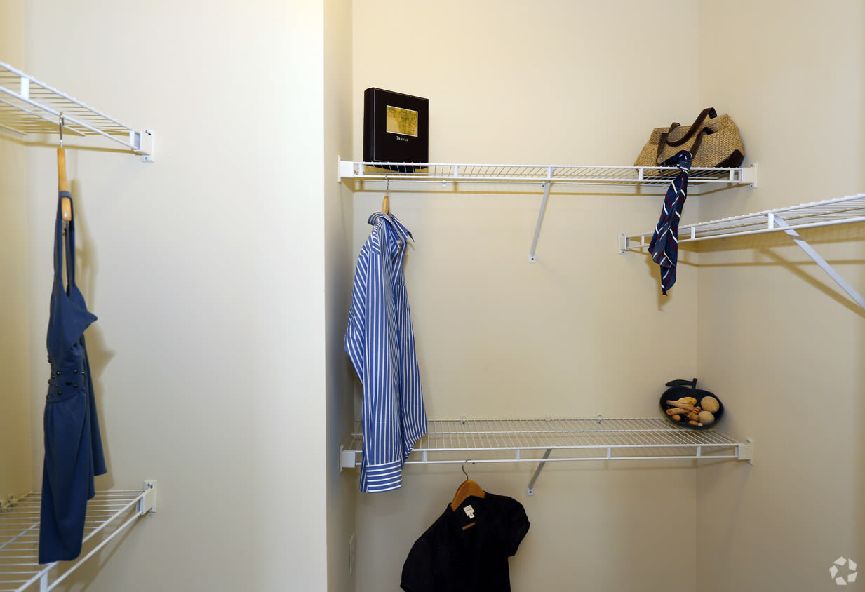 Sample closet at Carlyle Godley Station Pooler Georgia