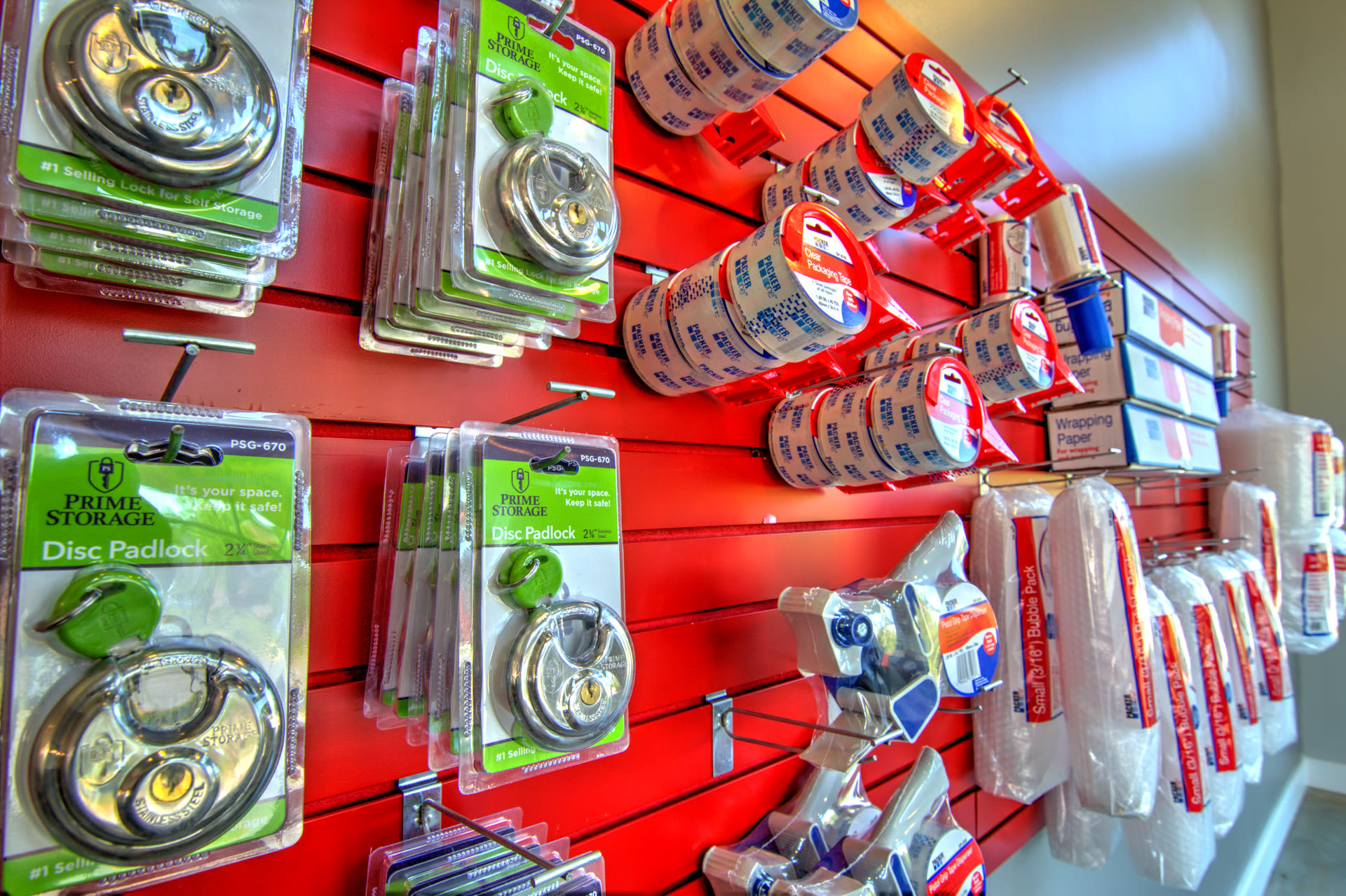 Prime Storage sells locks in Virginia Beach, VA