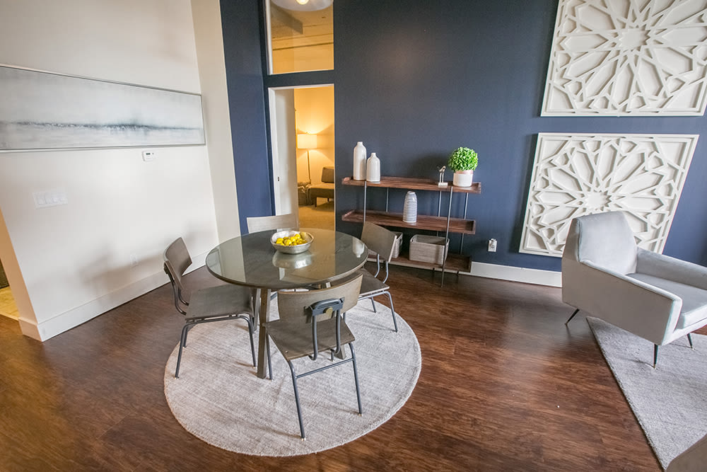 Our apartments in Cleveland, Ohio showcase a spacious living room