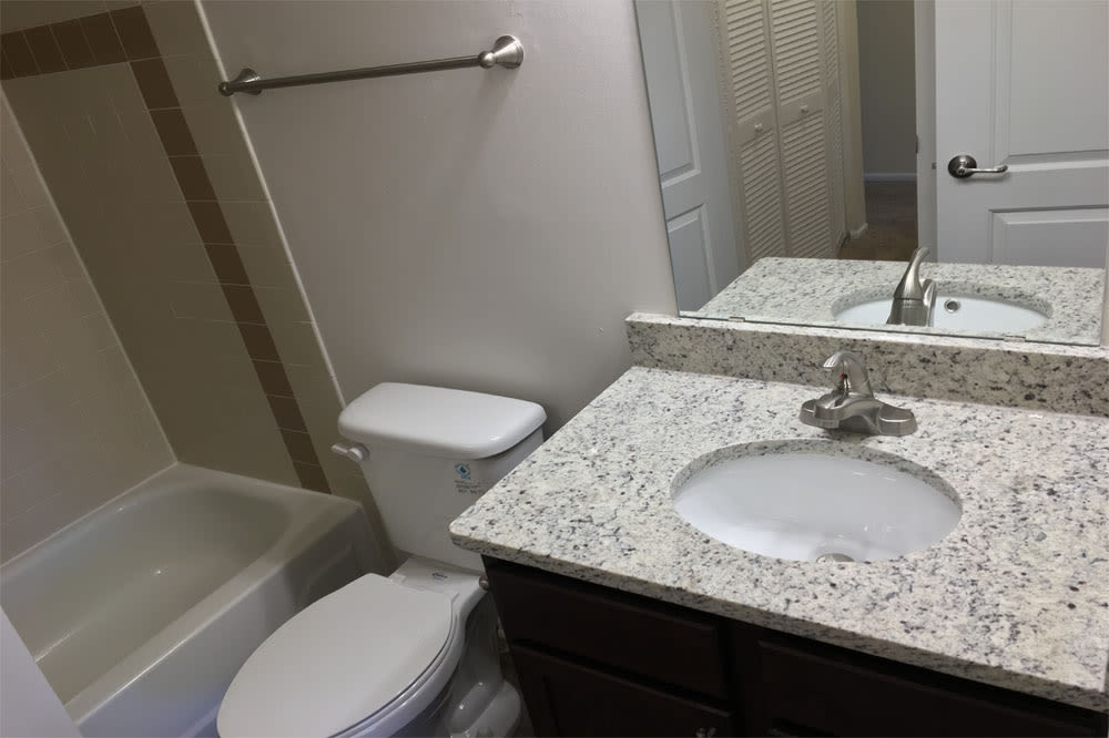 Our apartments in Virginia Beach, Virginia have a state-of-the-art bathroom