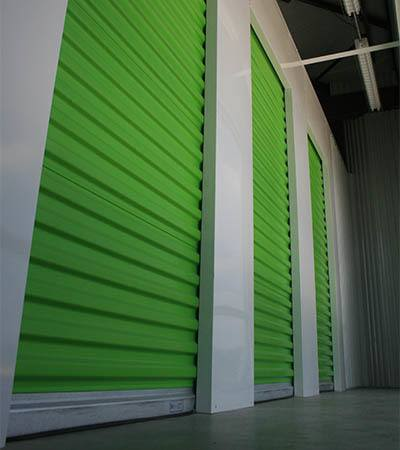 Climate controlled storage units at Space Shop Self Storage in Covington, Georgia