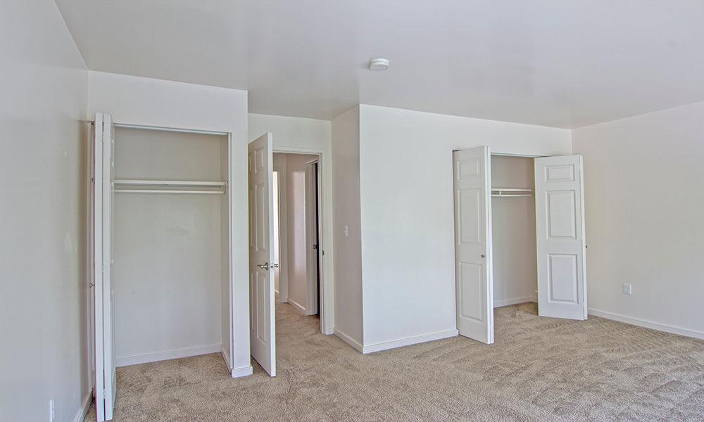 Spacious bedroom at apartments in Pittsburgh, Pennsylvania