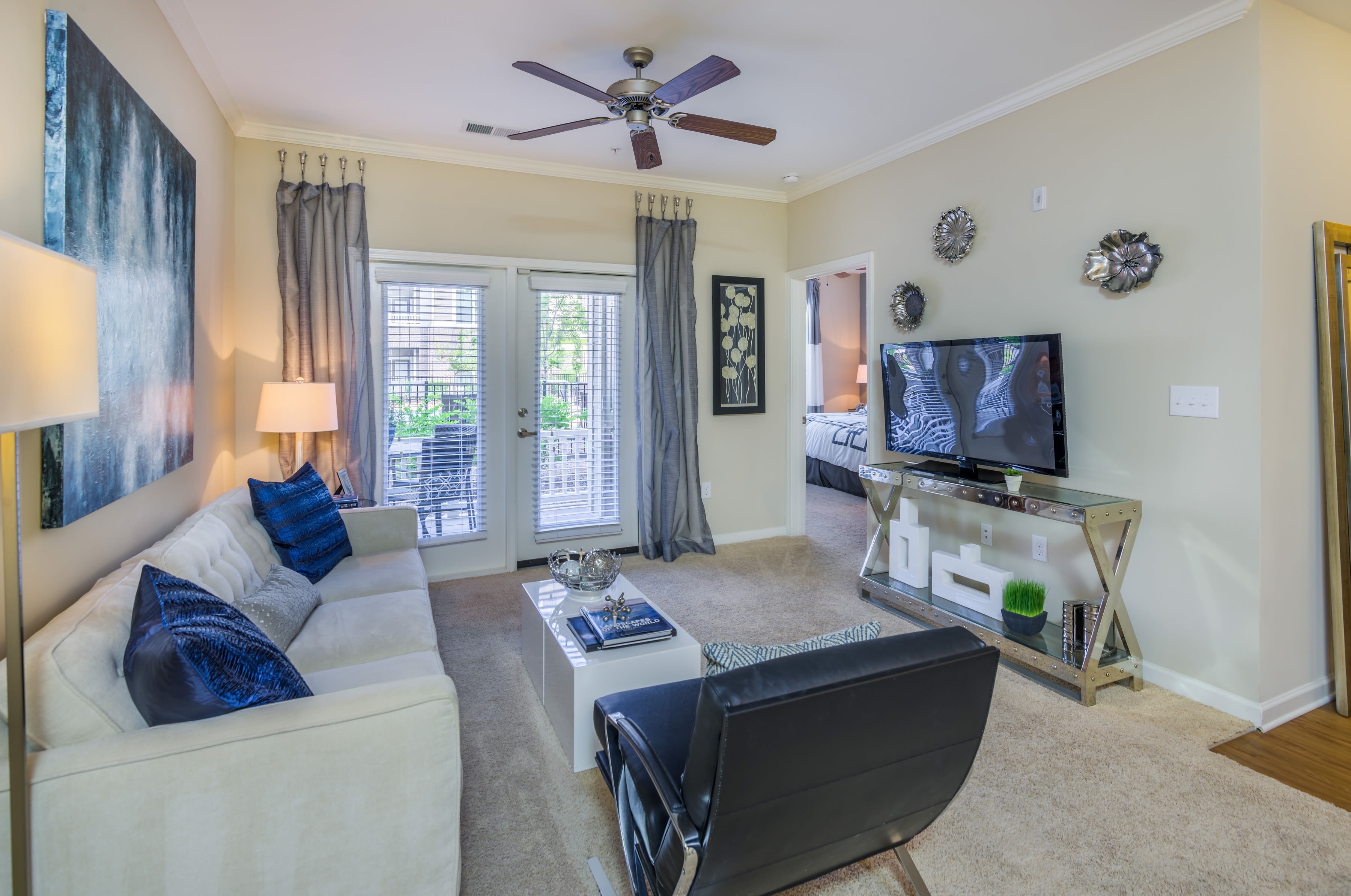 Our apartments in Raleigh, North Carolina showcase renovated interiors