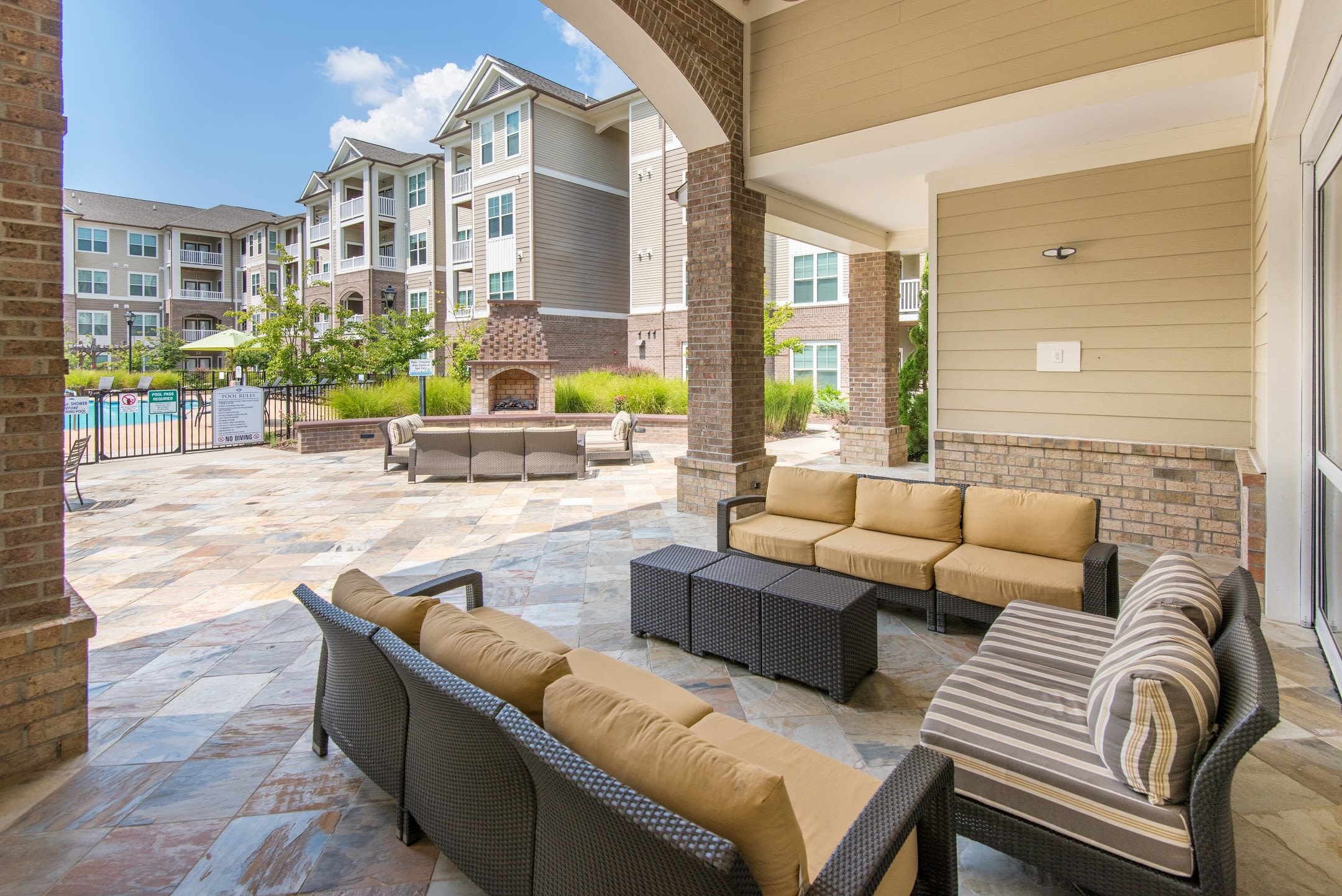 Sterling Town Center offers a resort style amenities in Raleigh, North Carolina