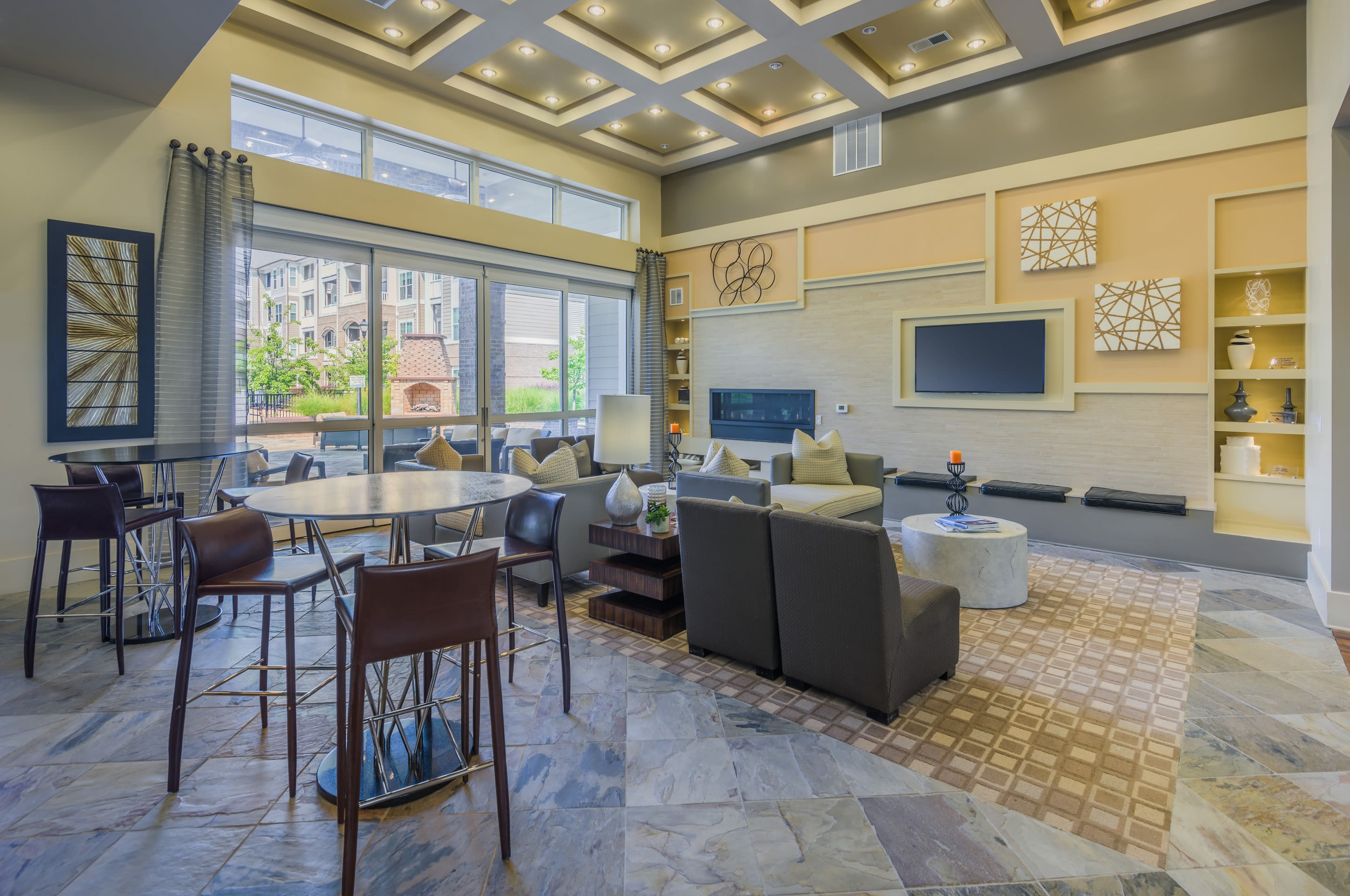 Enjoy our clubhouse at Sterling Town Center
