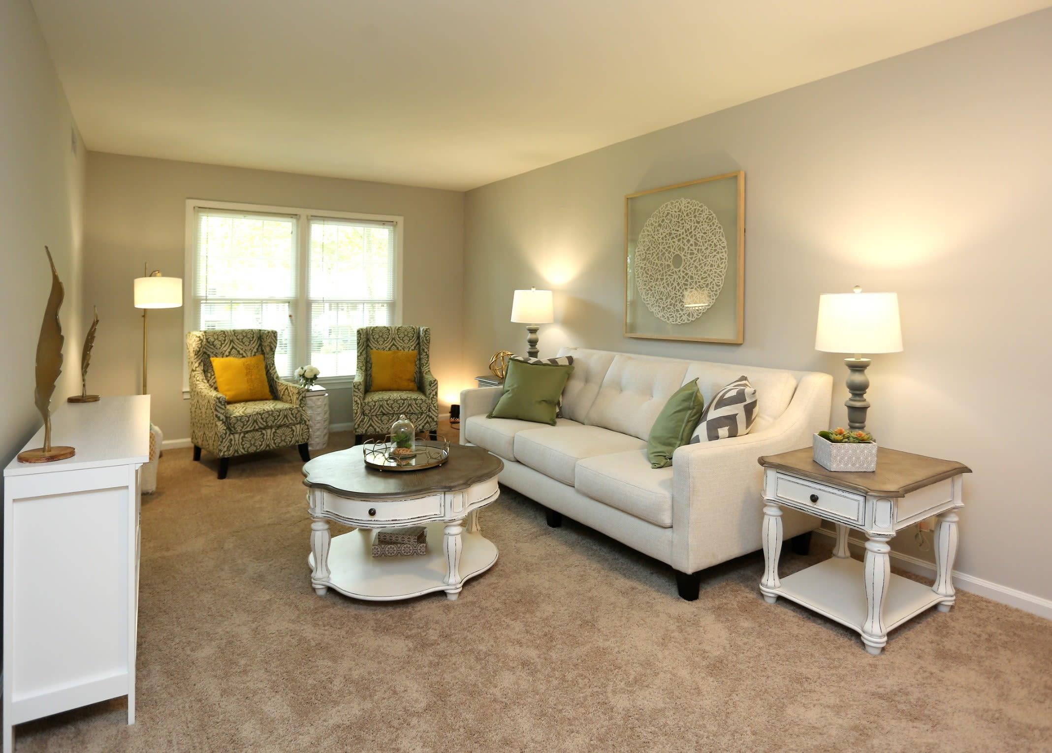 Model Interior at Greensboro, NC Apartments