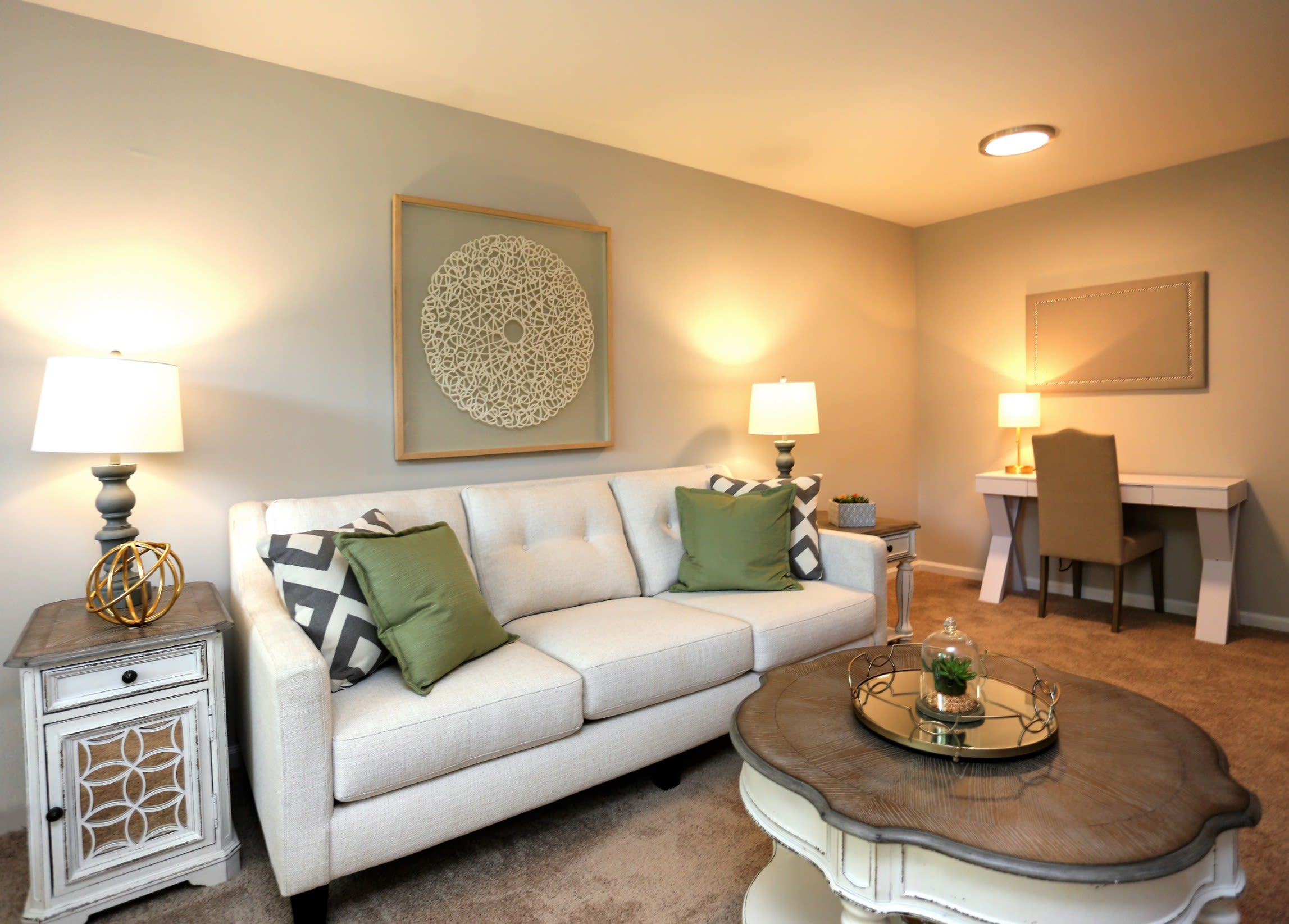 Beautiful Modern Interior @ Greensboro, NC Apartments