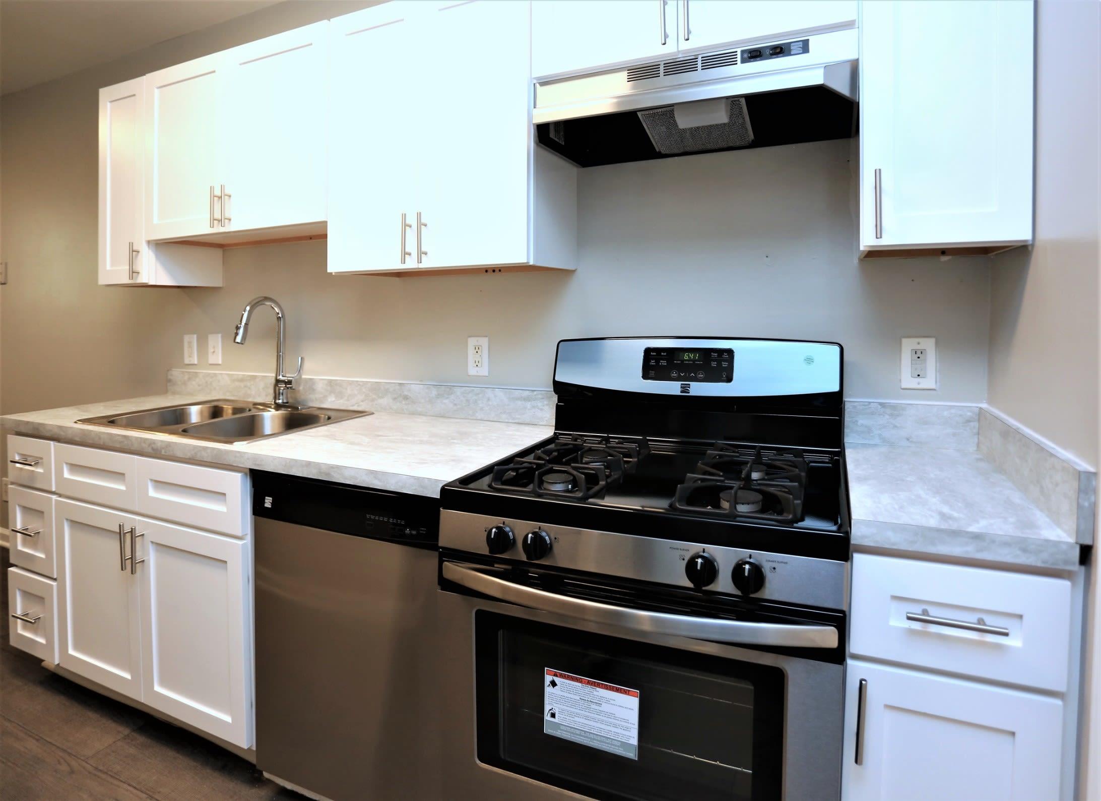 Kitchen Shot at Greensboro, NC Apartments