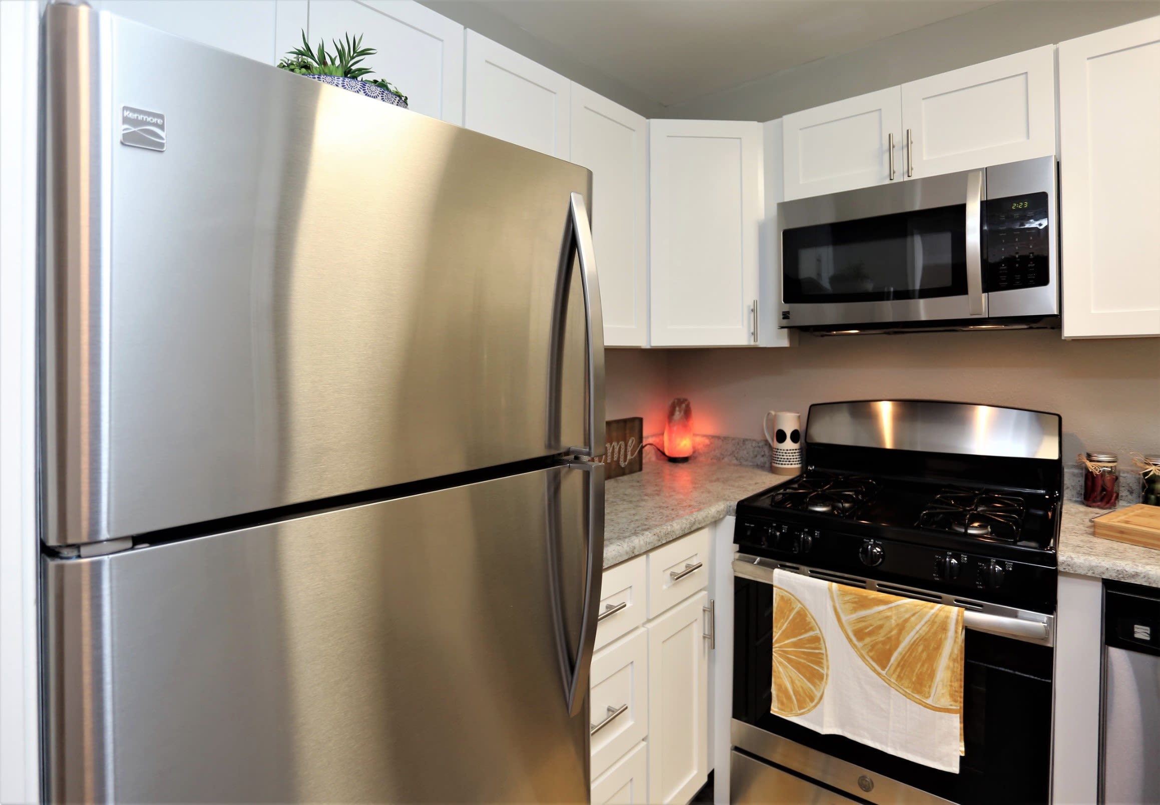 Stainless Appliances at Greensboro, NC Apartments