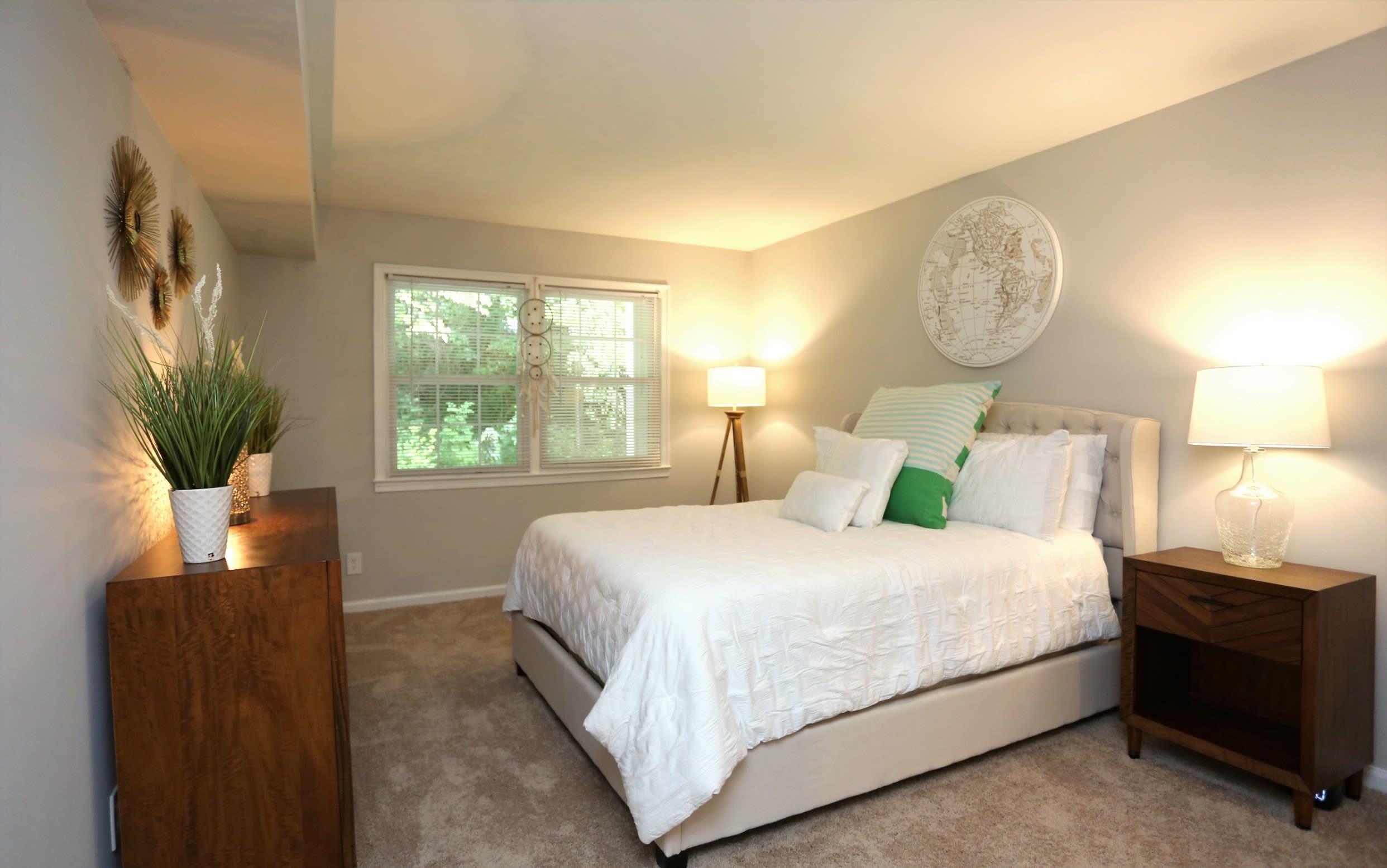 Bedroom at Greensboro, NC Luxury Apartments