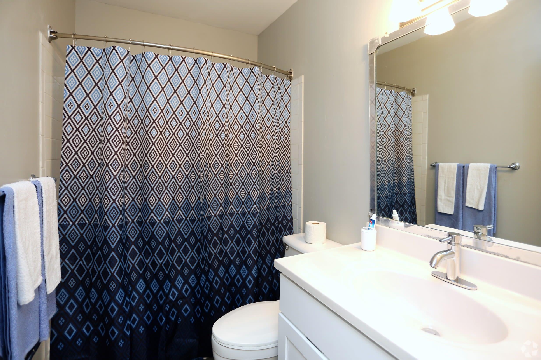 Bathroom @ Greensboro, NC Luxury Apartments