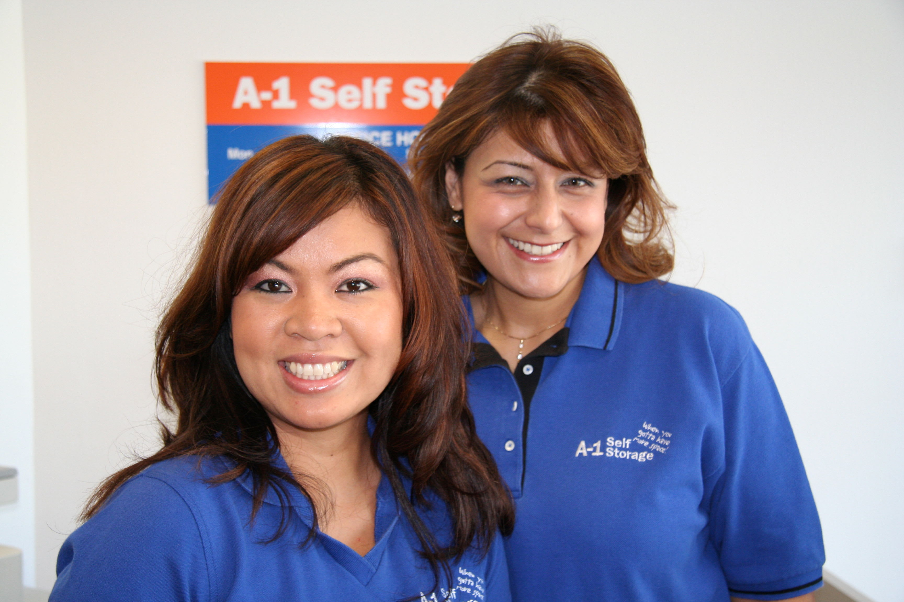 Our team at A-1 Self Storage in National City, California