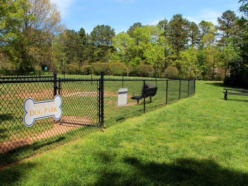 Dog Park for your Furry Friends at Berkshire 54 in Carrboro, NC