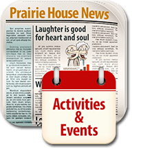 Prairie House Newsletter and Calendar - click to view