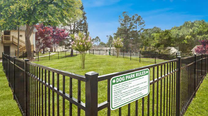 Dog Park at The Flats at Arrowood