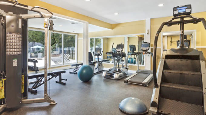 Fitness Center @ The Flats at Arrowood