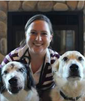 ​Dr. Andrea Goldy at Angeles Clinic For Animals in Port Angeles, Washington