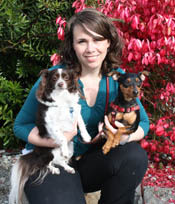 Dr. Christina Wagner at Angeles Clinic For Animals in Port Angeles, Washington
