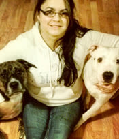 Michelle Juarez at Angeles Clinic For Animals in Port Angeles, Washington