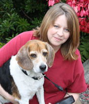 Angela Iyulores at Angeles Clinic For Animals in Port Angeles, Washington