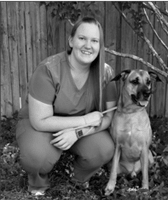 Heather Fawcett at Hanover Regional Animal Hospital.