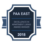 PAA East Award for Henry on the Park Apartment Homes in Philadelphia