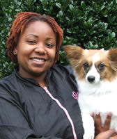 Adrienne at North Paw Animal Hospital in Durham, North Carolina