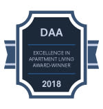 DAA award for Fox Run Apartments & Townhomes in Bear