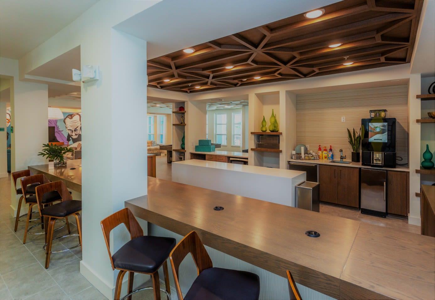 Resident Lounge at 50 Paramount Apartments in Tampa Florida