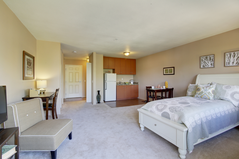 Bedroom at Citrus Place in Riverside, California