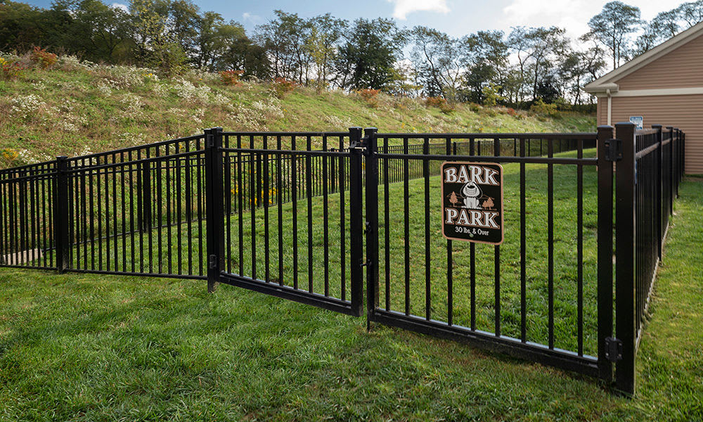 Dog park at Eden Square Apartments in Cranberry Township, Pennsylvania